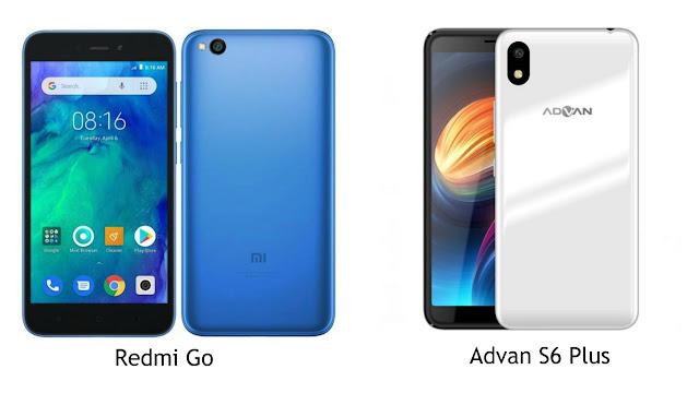Perbandingan Spesifikasi Redmi Go VS Advan S6 Plus, Pilih Mana?