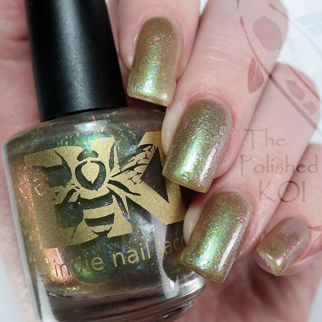 Bee's Knees Lacquer - Duke and Duchess Most Perverse