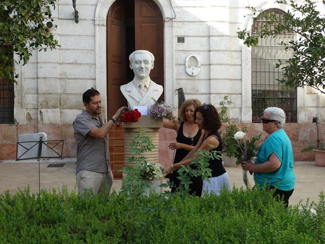 HOMENAJE A GARCÍA LORCA en Almería