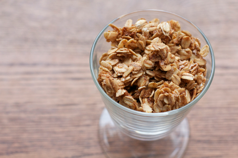 Citrusy Maple-Cinnamon Granola || A Less Processed Life