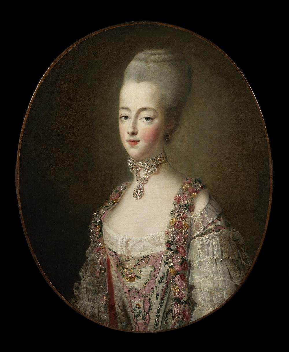 Dipinto di Drouais che ritrae Maria Antonietta Delfina nel 1773 7bf052c25d0