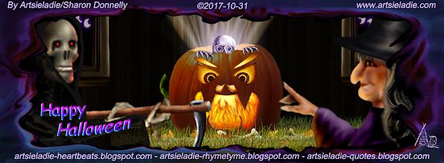 Halloween Facebook cover (3) by Artsieladie
