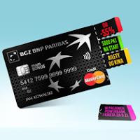 walizka bon sodexo i powerbank za kartę kredytową w BGŻ BNP Paribas