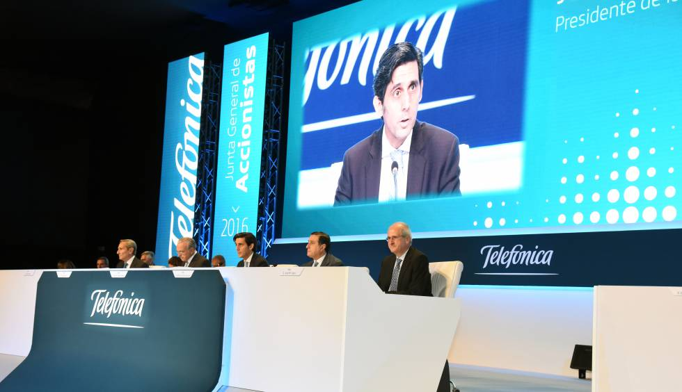 Telefónica tiene un gran reto por delante en su Junta de accionistas