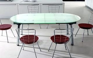 мебель из закаленного стекла