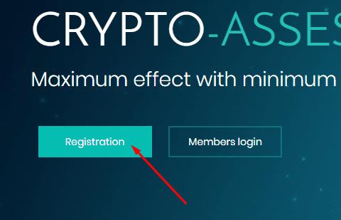 Регистрация в Crypto-Asset