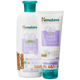 Baby lotion and cream
