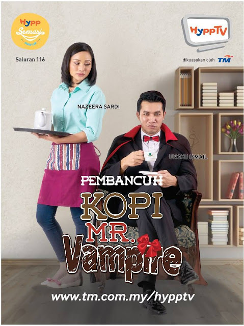 Pembancuh Kopi Mr Vampire Lakonan Ungku Ismail Dan Nazeera Sardi