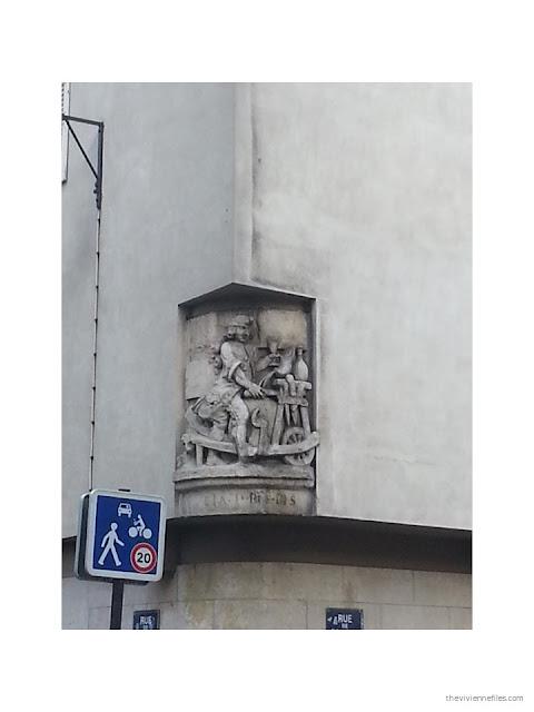 Paris street art antique sign for a cobbler's shop