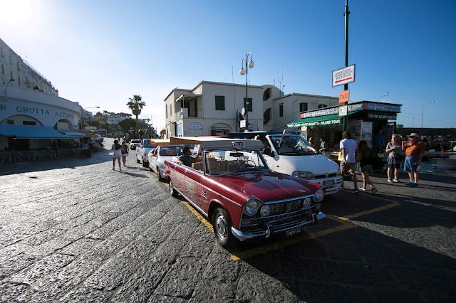 Taxi storico-Porto di Marina Grande-Capri