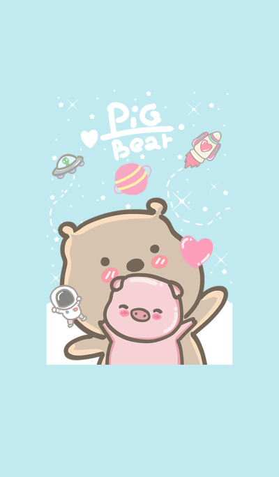 pig and bear (my universe3)