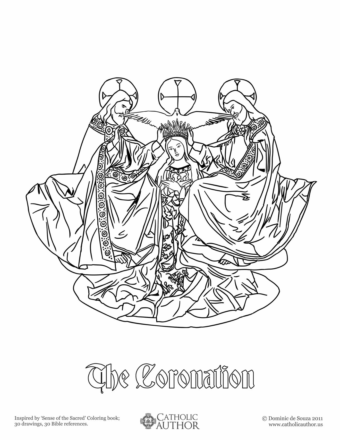 Our Lady Of Guadalupe Coloring Page (50 Images) - Class Teacher