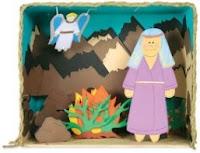 Fabriquer un diorama biblique en papier