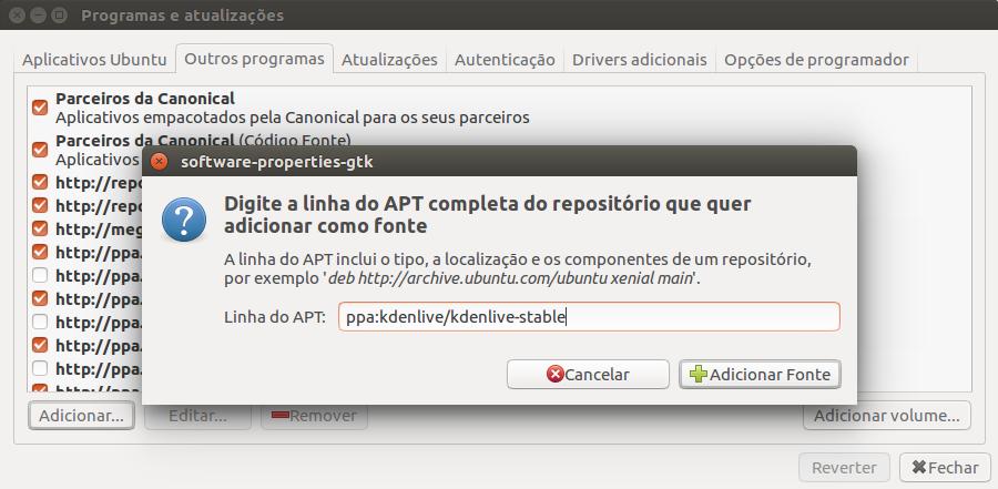 kdenlive ubuntu