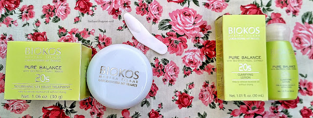 Biokos 20s Nourishing Gel Night Treatment dan Biokos 20s Clarifying Lotion