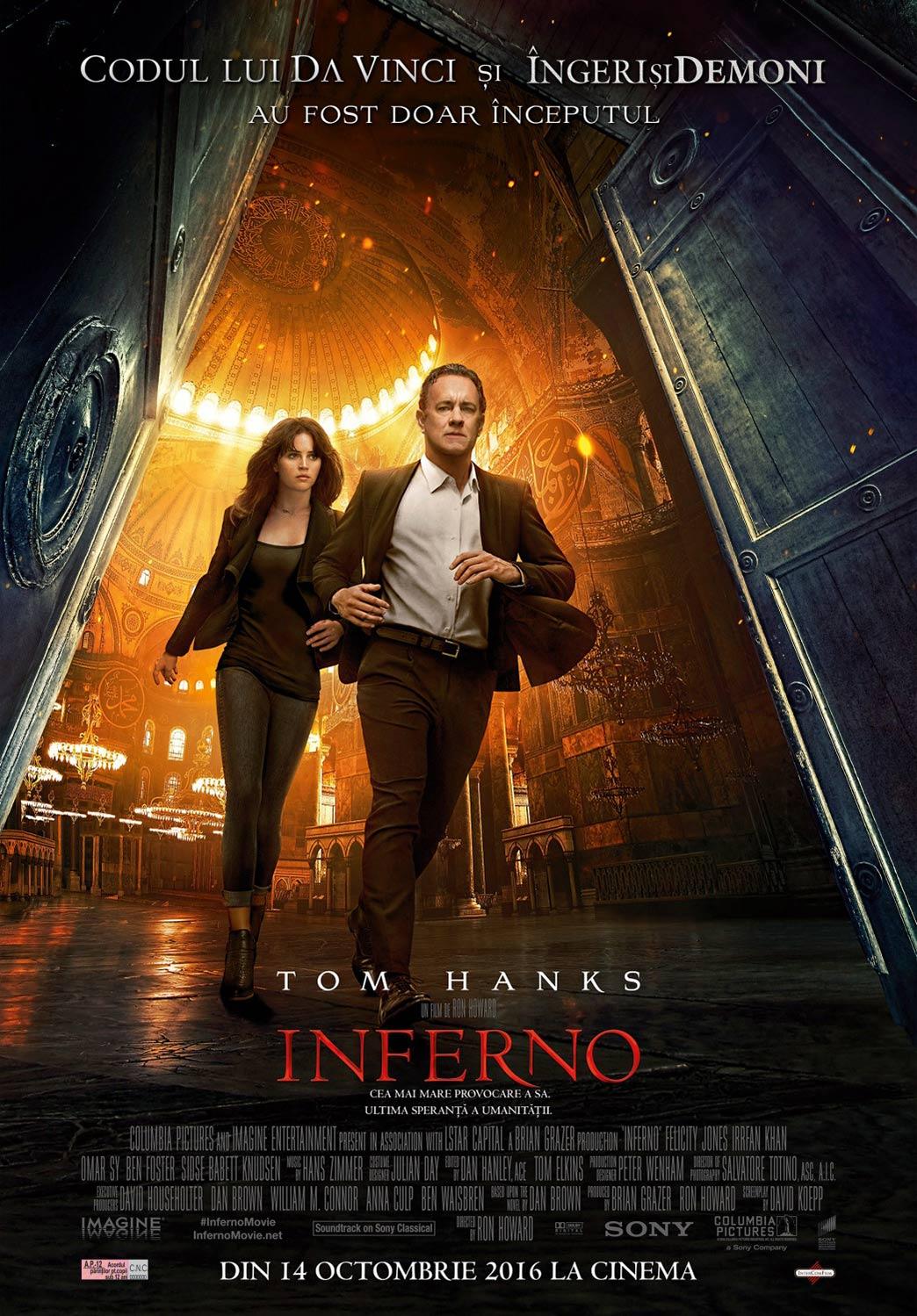 Inferno (2016) Movie In Hindi 720P
