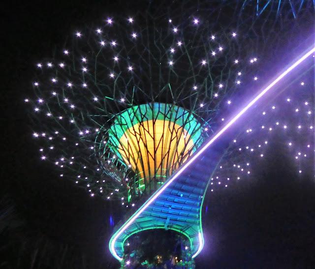 kvällsupplevelser i Singapore