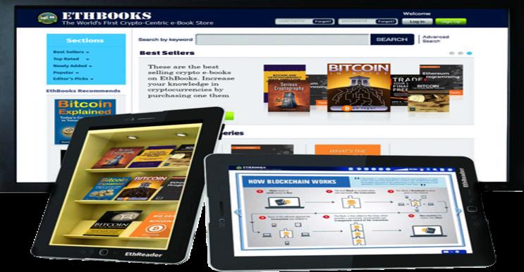 ETHBOOKS - eBook Online Store Pertama Yang Menerima Cryptocurrency