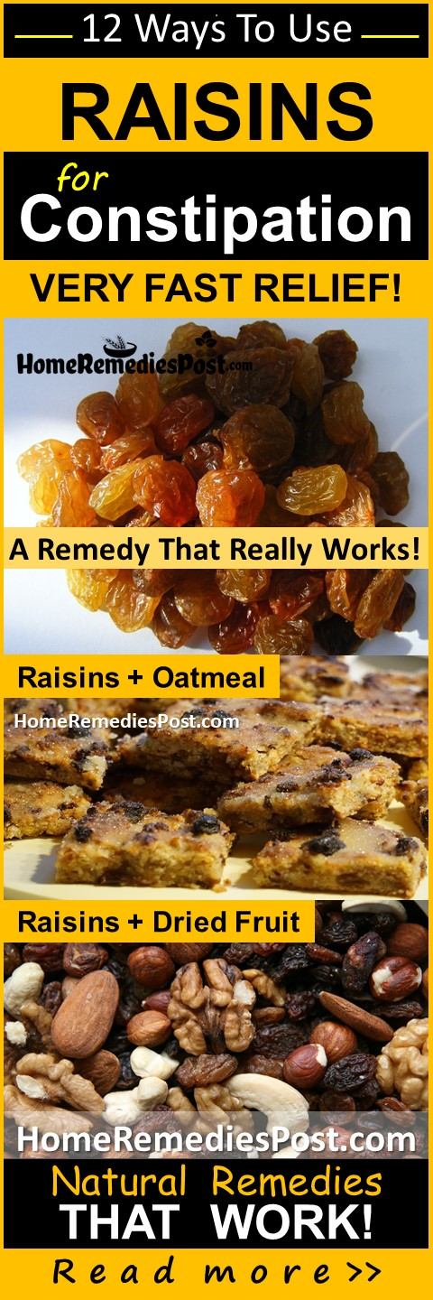 Raisins For Constipation, How To Get Rid Of Constipation, Home Remedies For Constipation, Constipation Treatment, Constipation Relief, Constipation Home Remedies, How To Treat Constipation, Treatment For Constipation, Constipation Remedies, Remedies For Constipation, How To Relieve Constipation, How To Release Constipation, Constipation Release, Relieve Constipation,