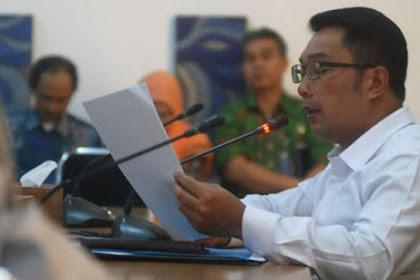 Ridwan Kamil Berhentikan 9 Kepala Sekolah Favorit Kota Bandung Karena Lakukan Pungli & Gratifikasi
