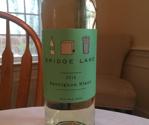 Bridge Lane Sauvignon Blanc 2016