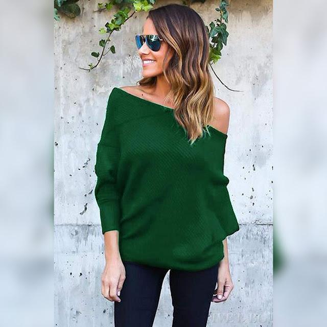 Μακρυμάνικη γυναικεία μπλούζα GINNY GREEN