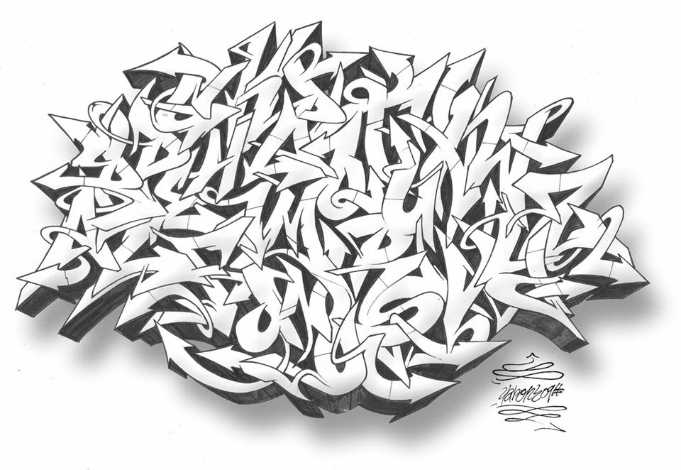 3d Street Art Graffiti Wallpaper Graffiti Wildstyle Best Graffitianz