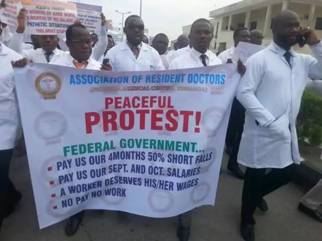 Doctors to stop helping people if government won't pay salaries