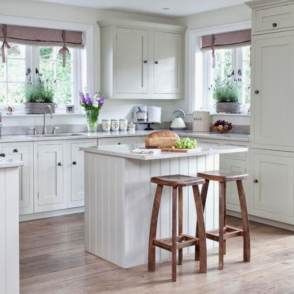 White Cottage Styled Kitchen