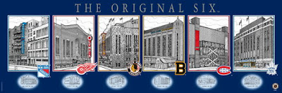 NHL Original Six Arenas