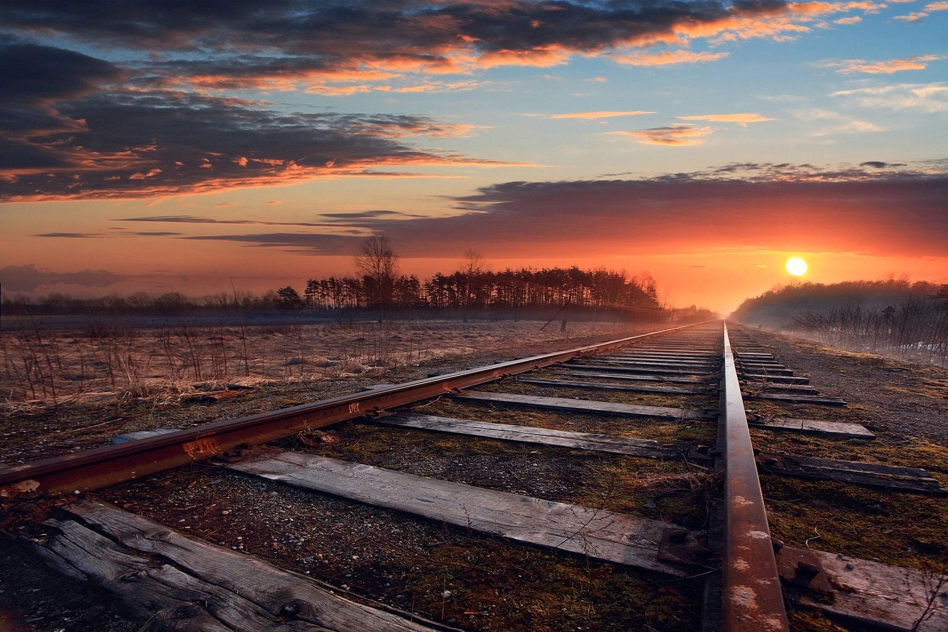 Papel de parede grátis hd estrada, por do sol, céu azul, paisagem. 395c085845