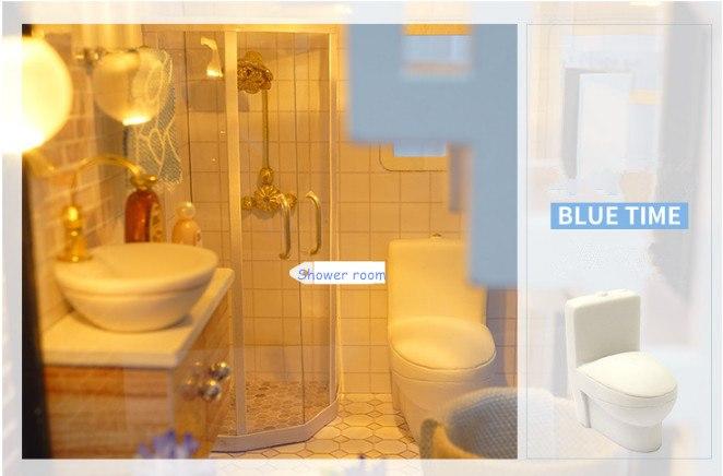 Blue Times Diy Miniature Wooden Doll House Diy Dollhouses