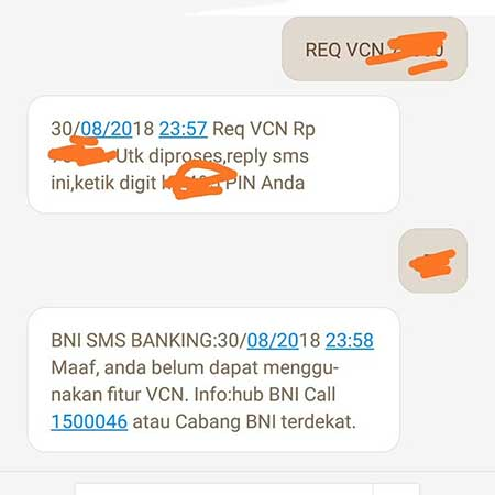 Mengapa Tidak Bisa Request VCN Debit Online BNI