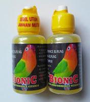 Vitamin Burung Lovebird Bionic