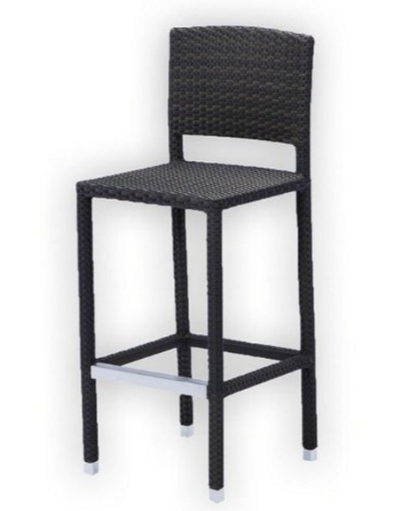 Source Outdoor Zen Armless Barstool