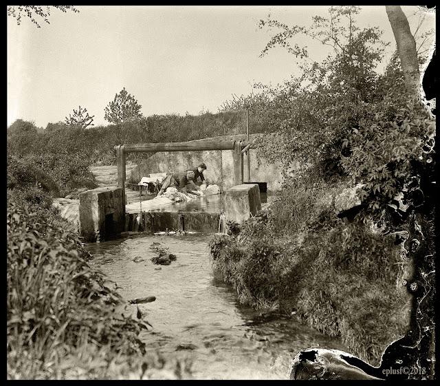 La grande buée, circa 1900