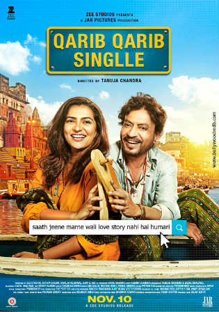 Qarib Qarib Singlle 2017 Hindi 720p DVDRip 850MB Full Movie Download