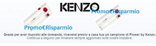 Logo Campione omaggio Flower by Kenzo: rispondi al sondaggio