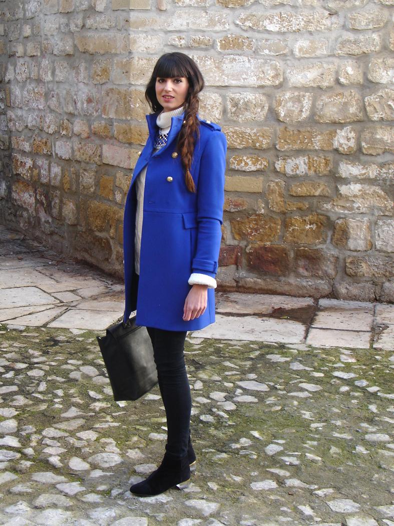 946cac52 Botines // Mango Touch Abrigo, pantalones // Zara (old) Collar, pulsera //  mercadillo Anillo // Bimba y Lola (old) Jersey // Zara (old)