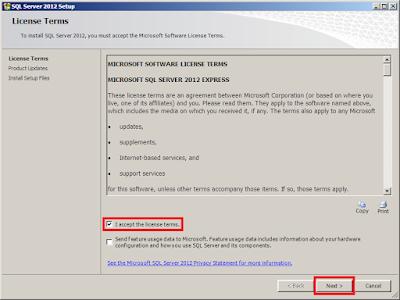Installasi SQL Server 2012 Express