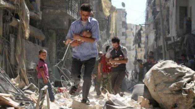 Pelanggaran Serius Hukum Internasional di Ghouta Timur
