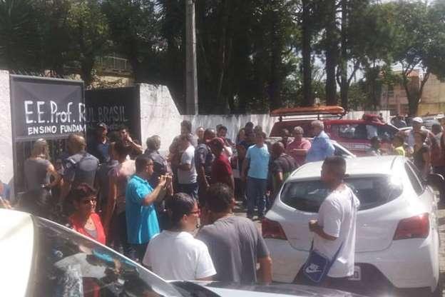 BBUIKrj - Veja fotos do massacre em Suzano