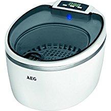 AEG USR 5659 - Limpiador por ultrasonidos, capacidad 600 ml, incluye varios soportes