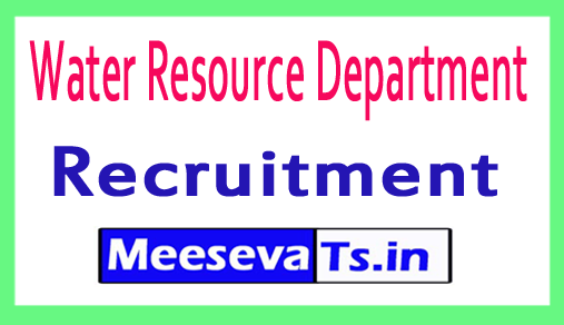 Water Resource Department WRD Recruitment
