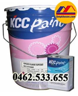 Sơn phủ epoxy nền bê tông KCC ET5660
