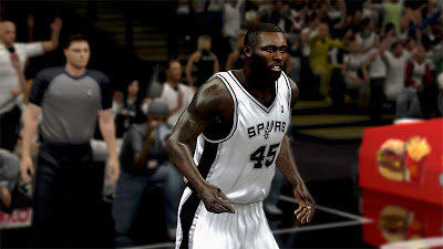 NBA 2K13 DeJuan Blair Cyberface 2K Patch