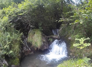 Asturias, barranco con Deporventura.