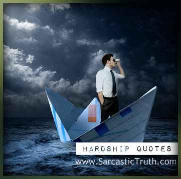 hardship quotes sayings