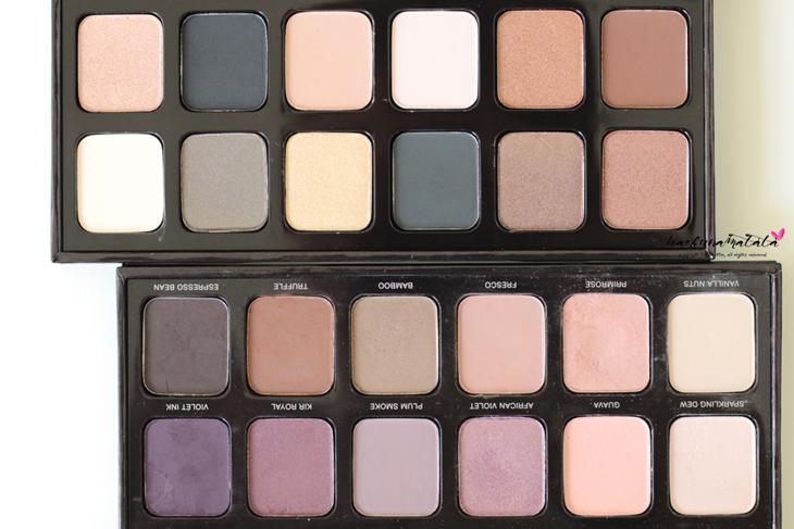Laura Mercier Eye Art Caviar Colour-Inspired Edition - Eyeshadow Palette Swatches, Review,  MOTD (vs. Artist Palette)