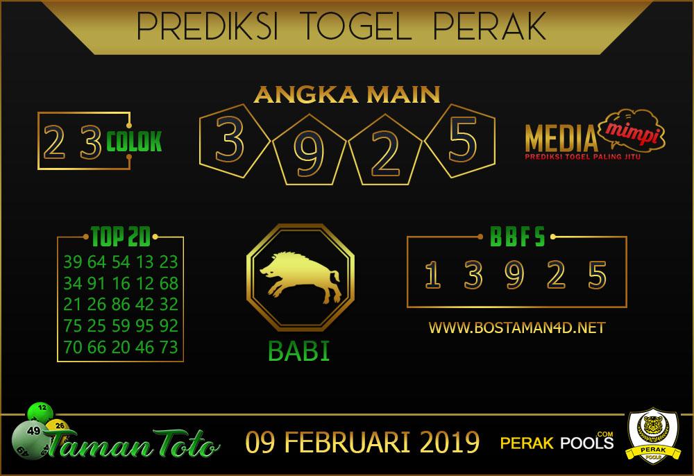 Prediksi Togel PERAK TAMAN TOTO 06 FEBRUARI 2019